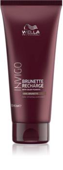 Wella Professionals Invigo Brunette Recharge après-shampoing rénovateur de couleur pour cheveux châtains