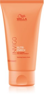 Wella Professionals Invigo Nutri-Enrich регенерираща маска за коса със самозагряващ ефект