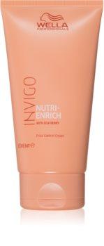 Wella Professionals Invigo Nutri - Enrich krem bez spłukiwania do wygładzenia i odżywienia niepodatnych włosów