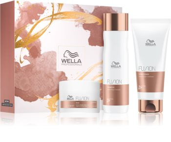 Wella Professionals Fusion kozmetika szett (a károsult hajra)