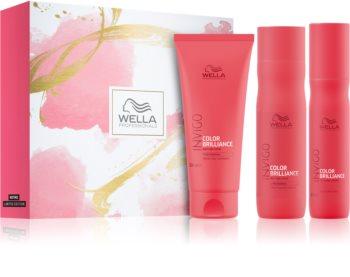 Wella Professionals Invigo Color Brilliance set cadou (pentru par fin si colorat)