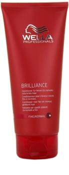 Wella Professionals Brilliance Balsam För fint, färgat hår