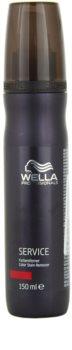 Wella Professionals Service emulsión para eliminar el tinte de la piel para cabello decolorado