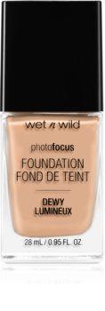 Wet n Wild Photo Focus fond de teint léger hydratant pour une peau lumineuse