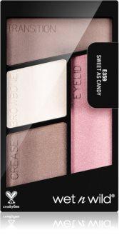 Wet n Wild Color Icon Eyeshadow Quad szemhéjfesték paletta
