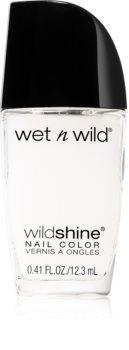 Wet N Wild Wild Shine lac de unghii/parte sus cu efect matifiant