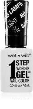 Wet N Wild 1 Step Wonder Gel gel de unghii fara utilizarea UV sau lampa LED