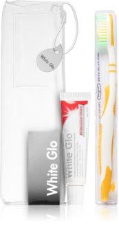 White Glo Travel Kit Seturi pentru voiaj Orange (pentru dinti)