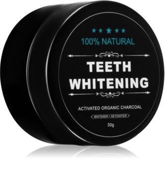 White Glo Charcoal pudra pentru albirea dintilor