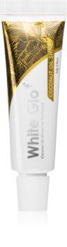 White Glo Coconut Oil Shine bleichende Paste