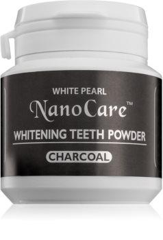 White Pearl NanoCare poudre dentaire blanchissante au charbon actif