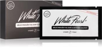 White Pearl Charcoal benzi pentru albirea dintilor