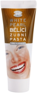 White Pearl Whitening dentifrice blanchissant pour les fumeurs