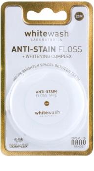 Whitewash Nano Anti-Stain filo interdentale con effetto sbiancante