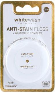 Whitewash Nano Anti-Stain fio dental com efeito branqueador