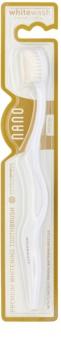 Whitewash Nano зубная щетка для предотвращения образования и удаления пятен средний