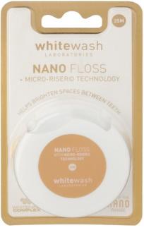 Whitewash Nano fio dental com efeito branqueador