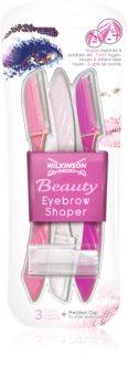 Wilkinson Sword Beauty Eyebrow Shaper navalha para sobrancelhas