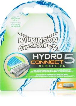 Wilkinson Sword Hydro Connect 5 náhradné žiletky pre citlivú pleť