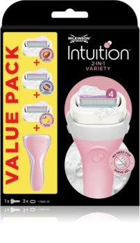 Wilkinson Sword Intuition Variety Edition borotválkozási készlet hölgyeknek