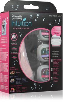 Wilkinson Sword Intuition Variety Edition kit de rasage pour femme