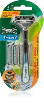 Wilkinson Sword Xtreme 3 Hybrid Rasierer Ersatzklingen 4 pc