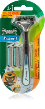 Wilkinson Sword Xtreme 3 Hybrid Shaver + Spare Blades 4 pcs