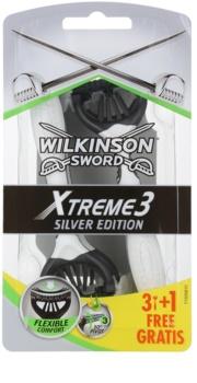 Wilkinson Sword Xtreme 3 Silver Edition lâmina descartável