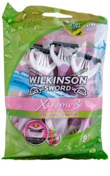 Wilkinson Sword Xtreme 3 Beauty Sensitive lâminas descartáveis 8 un.