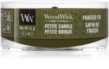 Woodwick Frasier Fir Votivkerze  mit Holzdocht