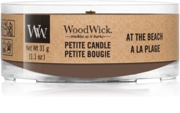 Woodwick At The Beach votive candle Wooden Wick