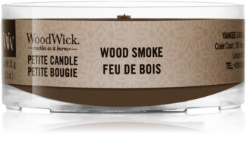 Woodwick Wood Smoke votive candle Wooden Wick