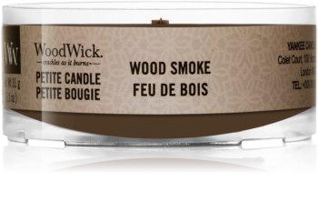 Woodwick Wood Smoke Votivkerze  mit Holzdocht