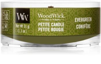 Woodwick Evergreen Kynttilälyhty Puinen Sydän