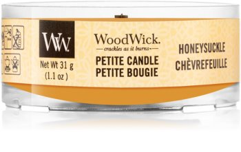 Woodwick Honeysuckle votivljus  trä wick