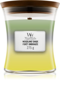 Woodwick Trilogy Woodland Shade scented candle Wooden Wick