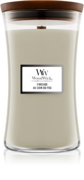 Woodwick Fireplace Fireside scented candle Wooden Wick
