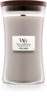 Woodwick Wood Smoke vonná svíčka s dřevěným knotem