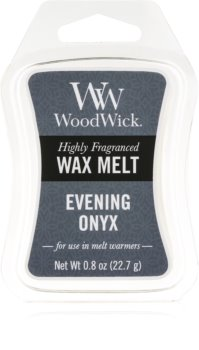 Woodwick Evening Onyx tartelette en cire