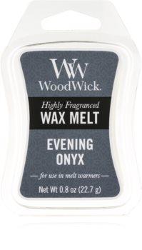 Woodwick Evening Onyx vosak za aroma lampu