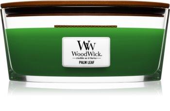 Woodwick Palm Leaf vela perfumada com pavio de madeira (hearthwick)
