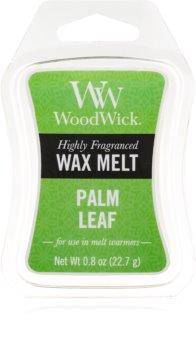 Woodwick Palm Leaf tartelette en cire