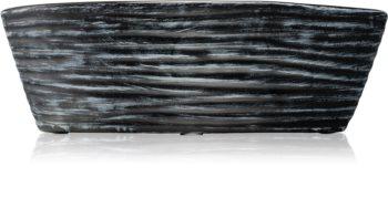 Woodwick Black Shell Black Cherry vonná svíčka s dřevěným knotem (hearthwick)