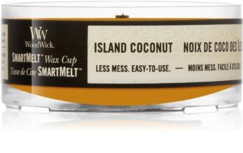 Woodwick Island Coconut tartelette en cire
