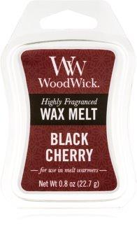 Woodwick Black Cherry tartelette en cire