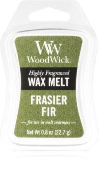Woodwick Frasier Fir cera per lampada aromatica