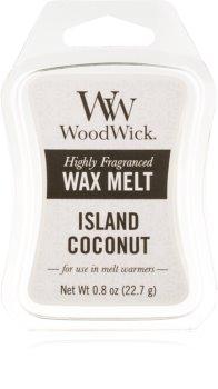 Woodwick Island Coconut восък за арома-лампа