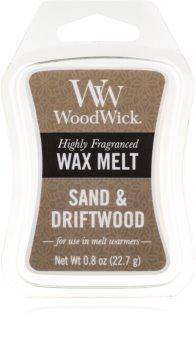 Woodwick Sand & Driftwood illatos viasz aromalámpába