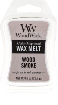 Woodwick Wood Smoke tartelette en cire