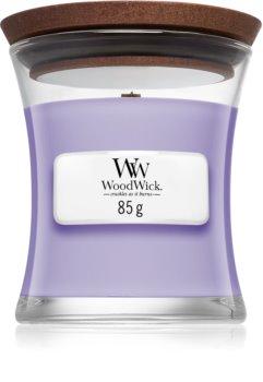 Woodwick Lavender Spa bougie parfumée avec mèche en bois